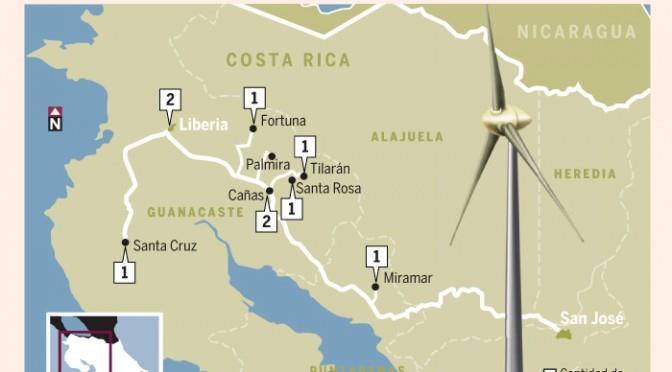一季度哥斯达黎加97%电力来自可再生能源