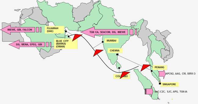8100千米孟加拉湾海底光缆正式投入运营