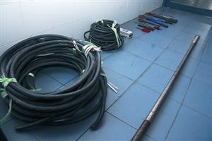 6小贼以铝换铜盗电缆 涉案金额逾30万元