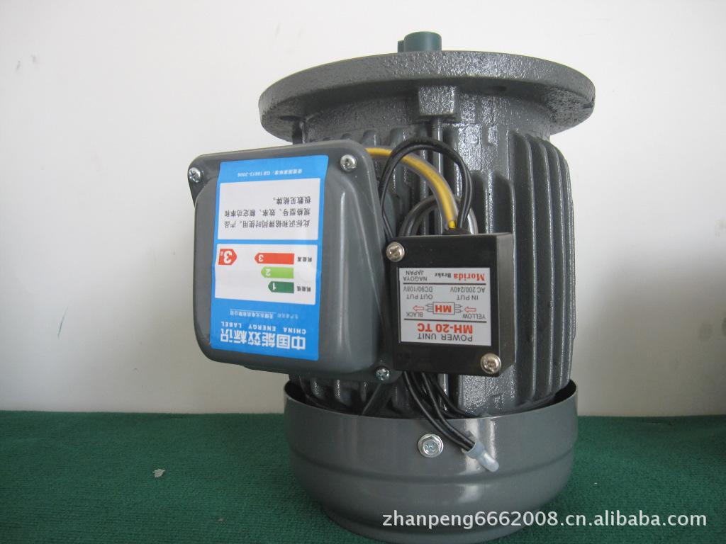 东元电镀设备专用通电刹车马达 2.2KW 4P卧式刹车电机