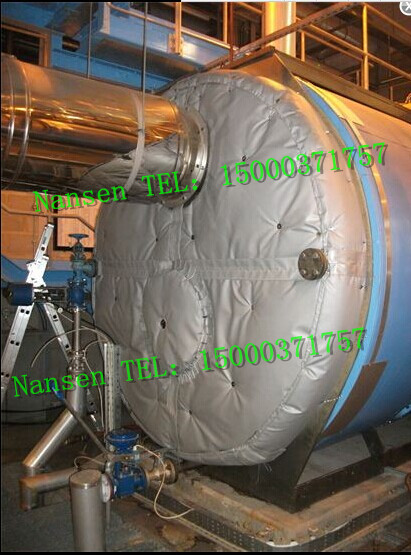 可拆卸式模温机保温套柔性模温机保温隔热可拆方便检修绝热节能环