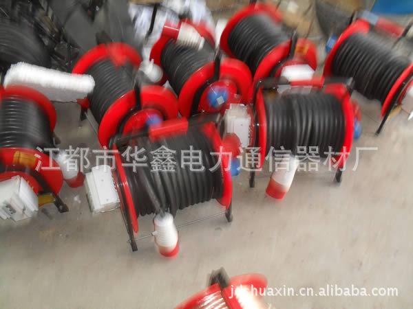 生產多種規格拖線盤 移動電纜盤 220伏30米繞線盤