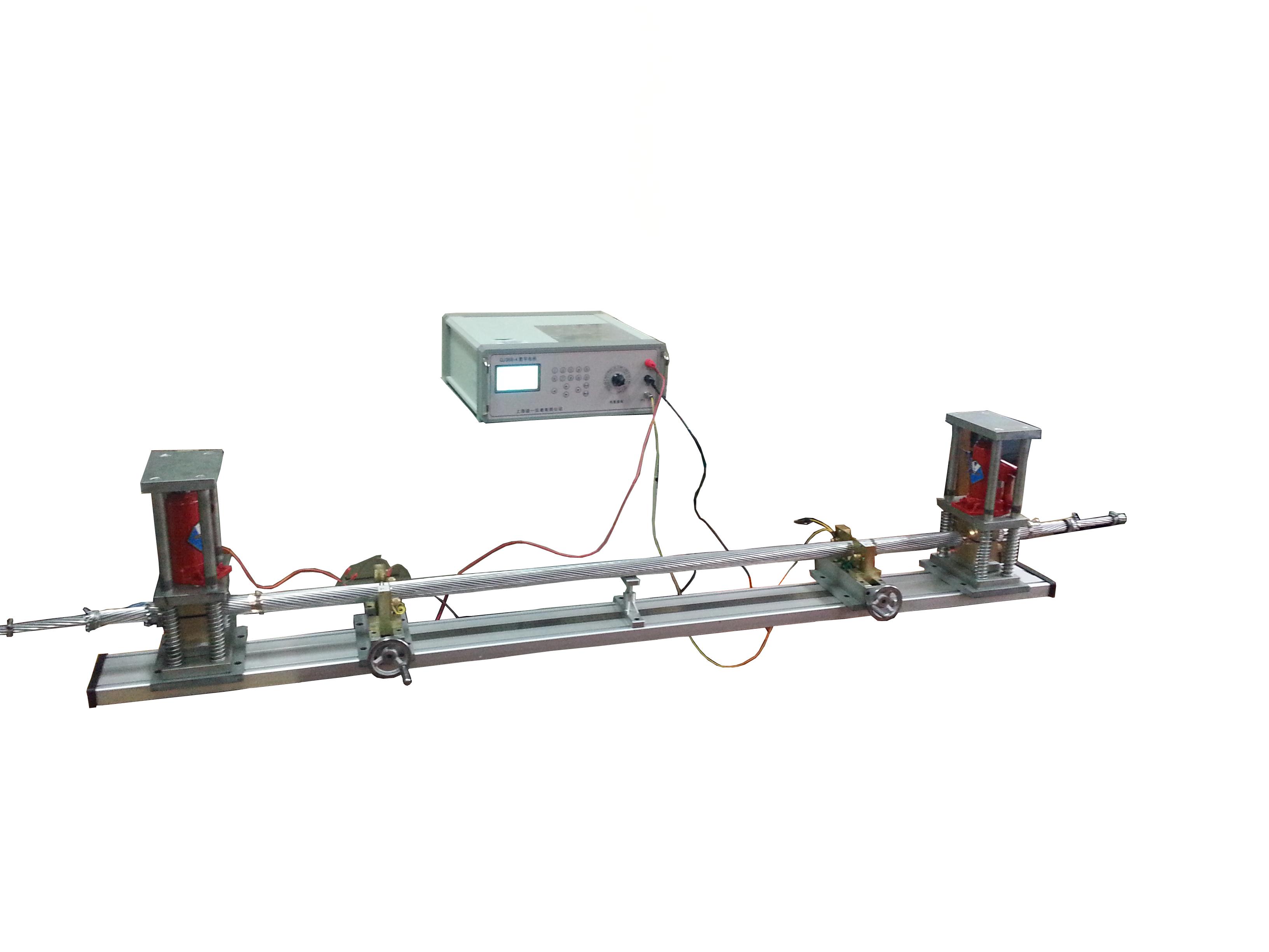多股绞合铜、铝导体电阻测量电桥液压夹具