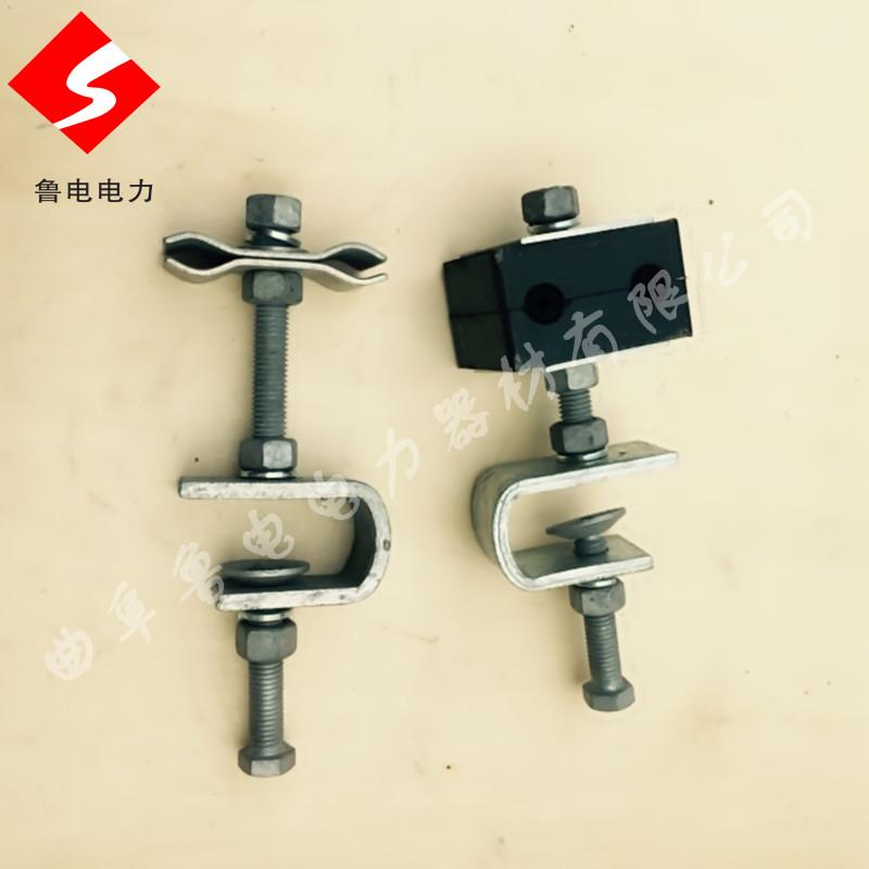ADSS光纜金具廠家引下線夾引線線夾價格導引線夾曲阜魯電
