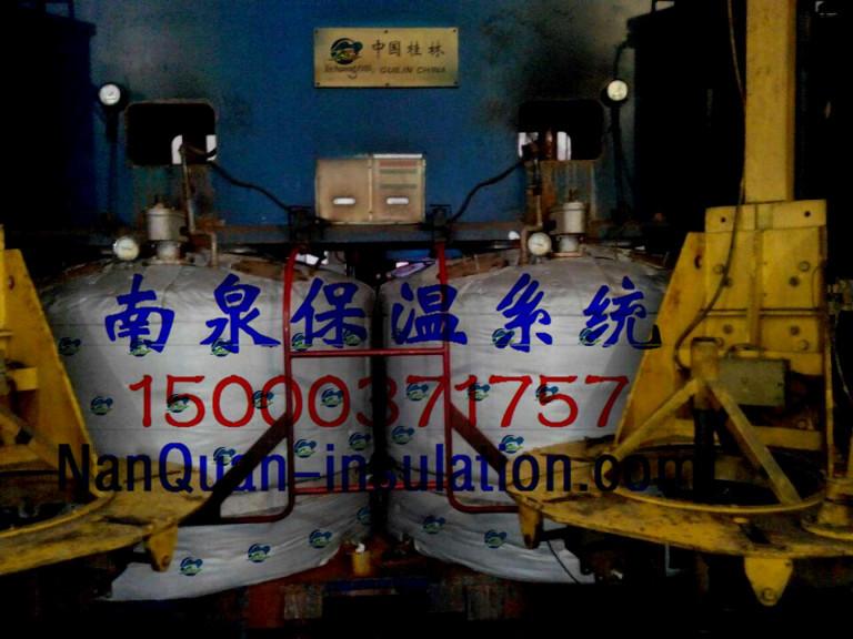 设备防冻凝聚热保温套设备柔性保温