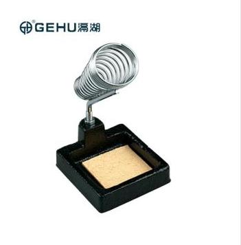 【GEHU滆湖】纯金属烙铁架铁质底座电烙铁必备辅助工具焊接配件