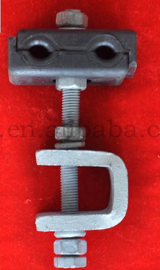 品牌廠家 保質供應 塔用鍍鋅鋼引下夾具