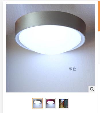 现代简约时尚LED吸顶灯餐厅灯卧室厨房灯阳台玄关灯具圆形灯饰