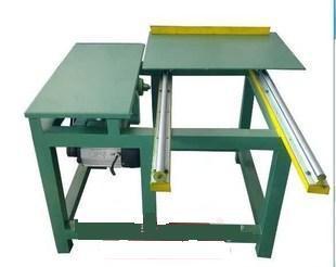 厂家生产精密导轨简易推台锯板材开料木工机械大板小料都可用