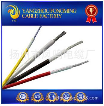 耐200度高温电线 玻璃纤维编织硅橡胶高温线 电线电缆2.5平方