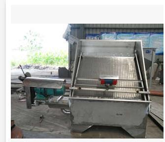 粪便固液分离机RKF40 南京猪粪处理固液分离机厂家