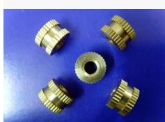 现货供应M1.6预埋铜螺母,M2-M5注塑铜螺母 铜嵌件