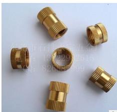 供应非标准件M1.4-M10 铜螺母 嵌件铜螺母