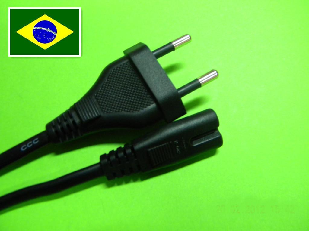 巴西/TUV二插电源线