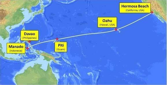菲律宾长途电话公司拟建海底光缆连接美国