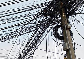 日本无电线杆化法案通过决议