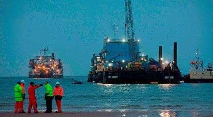 全球最大的海底电缆登陆苏格兰北艾尔郡