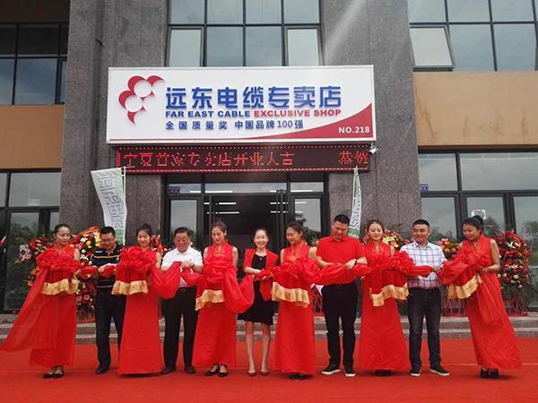 远东电缆宁夏首家专卖店开业 布局大西北线缆市场