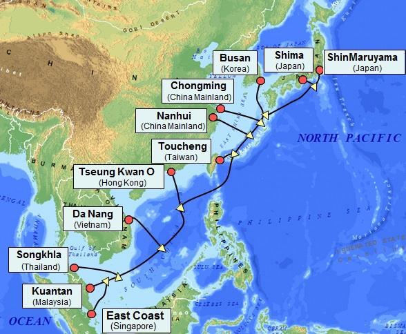 亚太网关海底电缆连接中断致越南网速变慢