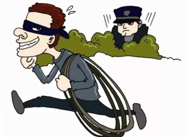 假工人真小偷 一男子冒充电信工人偷电缆