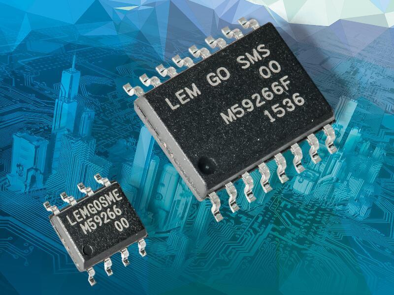 莱姆推出集成原边导体、SO8 & SO16封装隔离式电流传感器