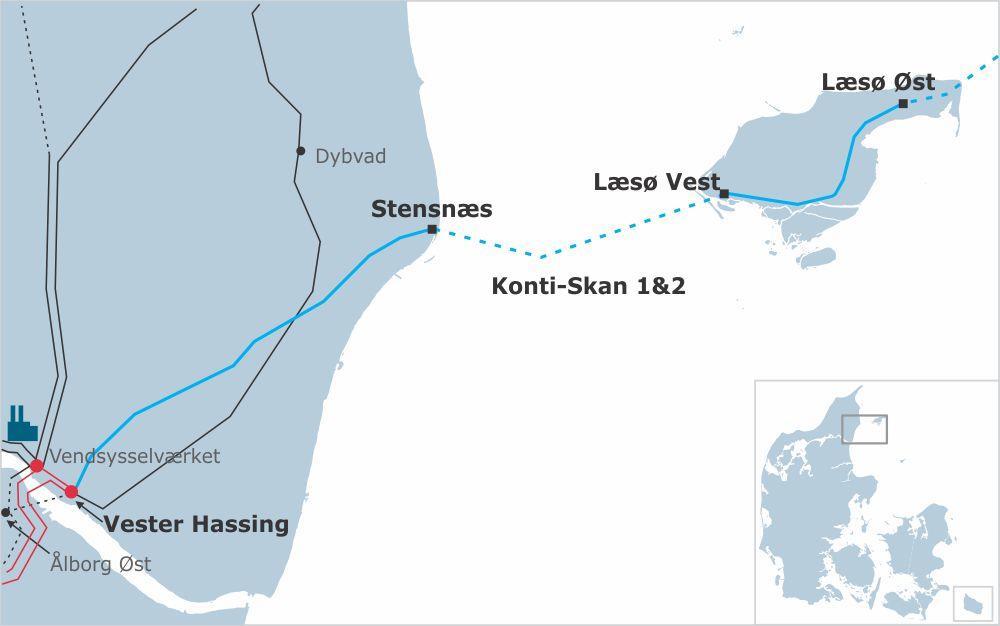 ABB获瑞典-丹麦海底高压直流输电系统升级订单