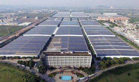 全球单厂最大屋顶光伏项目--中山格兰仕屋顶光伏项目发电量突破1亿千瓦时