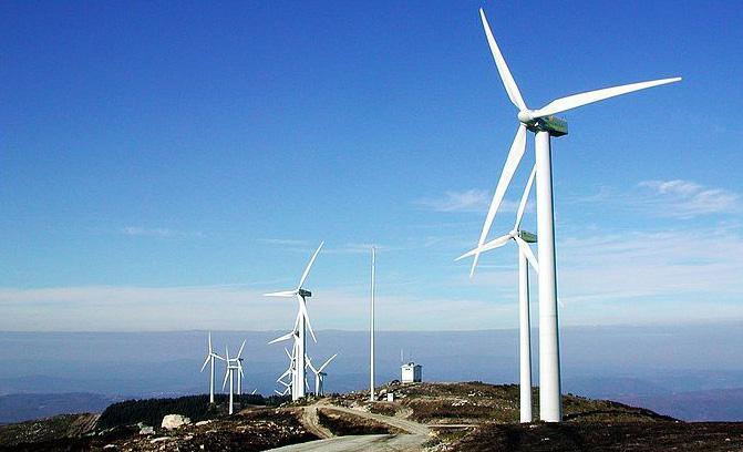 国电南非项目完成风电机组吊装 机组全部中国造