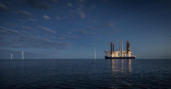 全球首个冰冻环境下的海上风电场完工