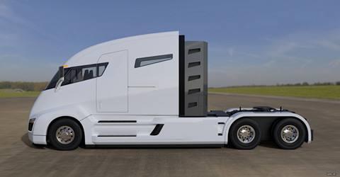 特斯拉宣布下月推出首款具备自动驾驶功能电动卡车