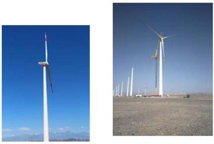 全球最大单体混凝土塔筒风电场落地中国