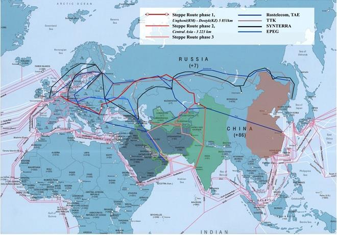 世界首条中国-欧洲高速率陆地光缆系统建成