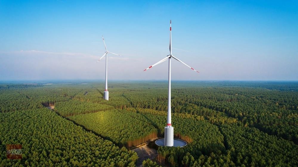 246米:德国安装全球最大的风力发电机组