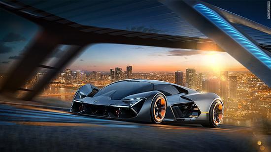 兰博基尼与麻理拟合作开发没有电池的纯电动超级跑车