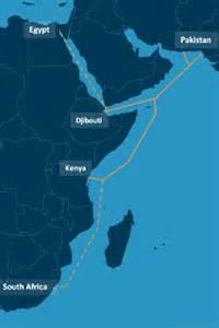华为海洋启动PEACE海底光缆系统路径调查