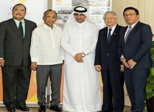 卡塔尔太阳能公司与菲律宾政府共商项目合作