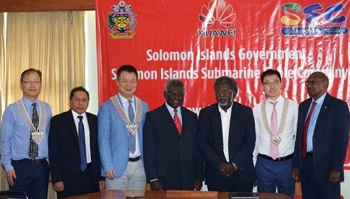 所罗门群岛新政府将审查华为海底光缆总包合同