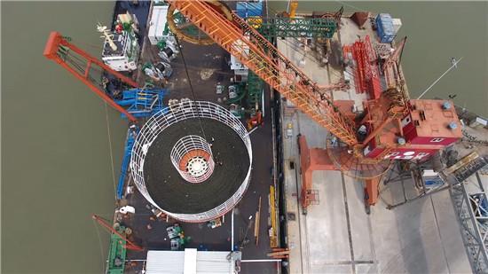世界首根大长度500kV海底电缆在亨通问世