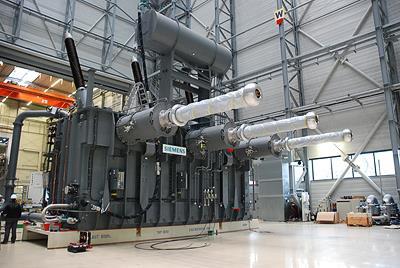 西门子变压器供应英法高压直流海底互联线路