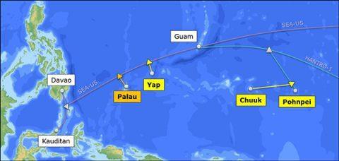 100Gbps帕劳-关岛海底电缆已经竣工