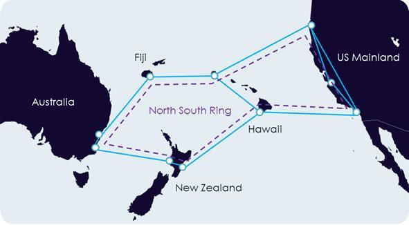 斐济斥资1500万美元参建NEXT海底光缆系统