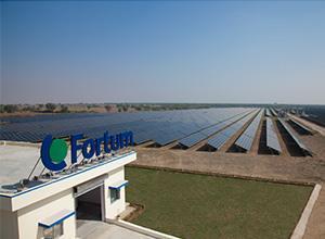 Fortum成功完成卡纳塔克邦100MW太阳能项目