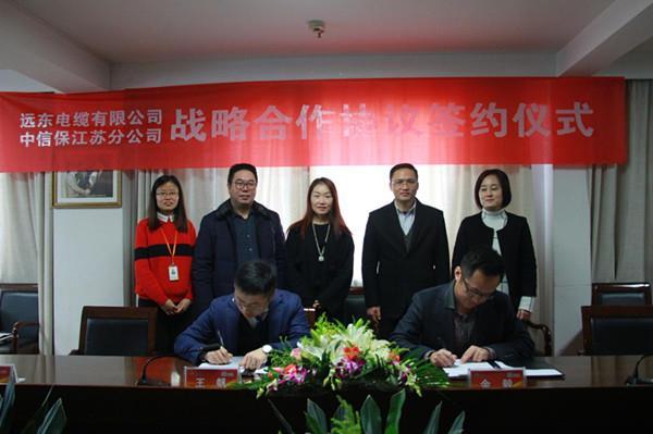 远东电缆与中信保(江苏)签约,开启战略合作模式
