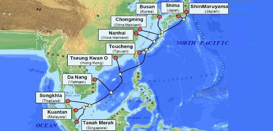 APG海底光缆系统将于本周末恢复运营