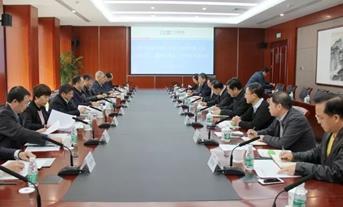 东方电气董事长邹磊走访中国能建和华电集团
