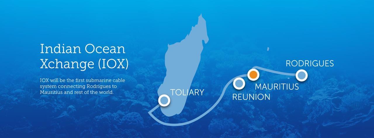 印度-南非海底光缆系统IOX将于2019年底投产