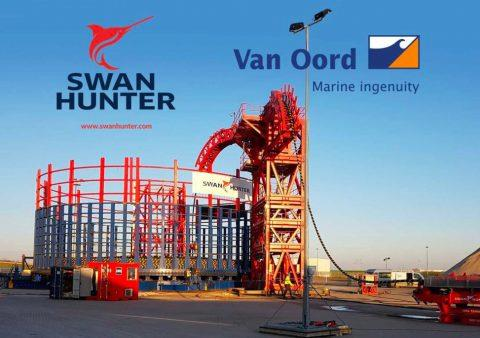 英国斯旺亨特造船厂收获第二份电缆存储合同