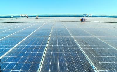 北京市最大单体分布式光伏发电项目并网