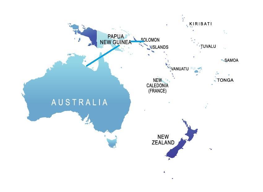 Vocus负责澳洲-所罗门海底光缆项目初期研究