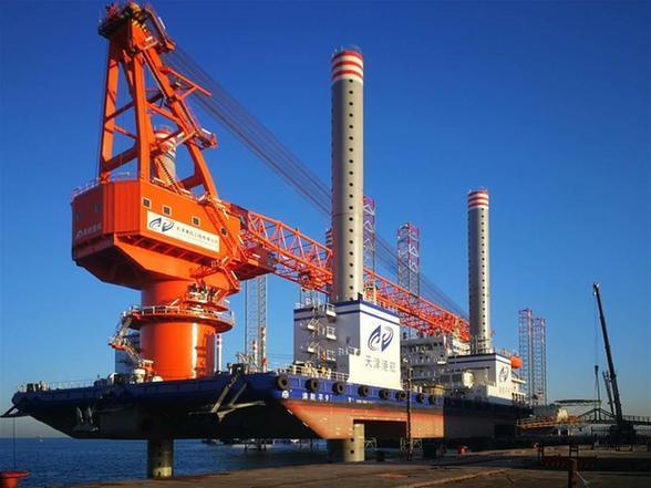 天津海上风电施工